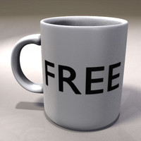 coffee mug obj free