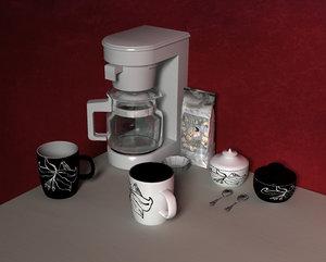 set coffee cups lwo