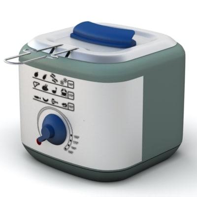 fry fryer 3d model