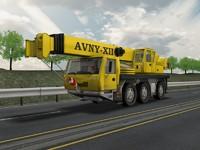 3d model crane industrial