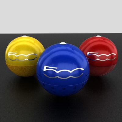 fiat 500 accesories max