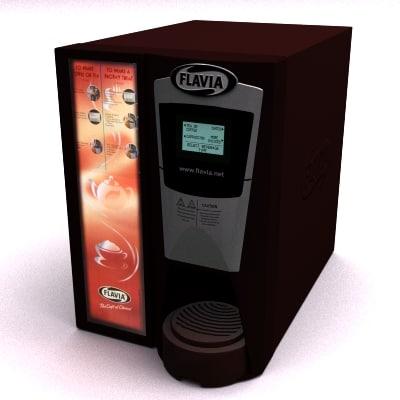 3d flavia drinks vending machine