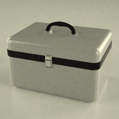suitcase suit obj