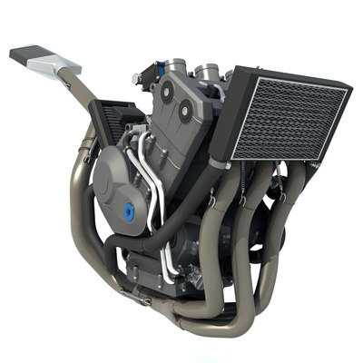 3ds max benelli engine