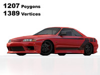 3ds max nissan skyline r32 tuning