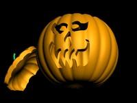 3d model jack-o pumpkin
