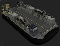 3d military barge