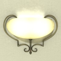 wall sconce lamp lfc001 3ds