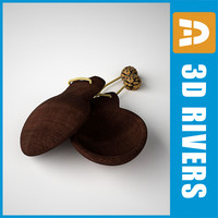 Spanish castanets by 3DRivers