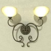 3d 3ds lamp wall light b