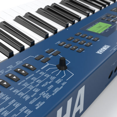 3d model synth set maxwell