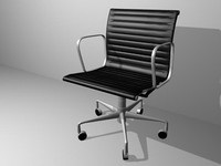 Eames Aluminum Management Chair Leather