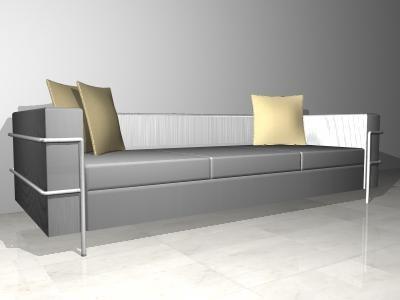 3d seater modern sofa