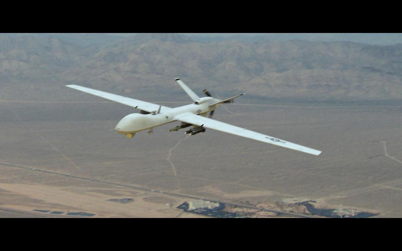 reaper aerial hellfire 3d model