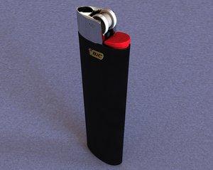 bic lighter 3d ma