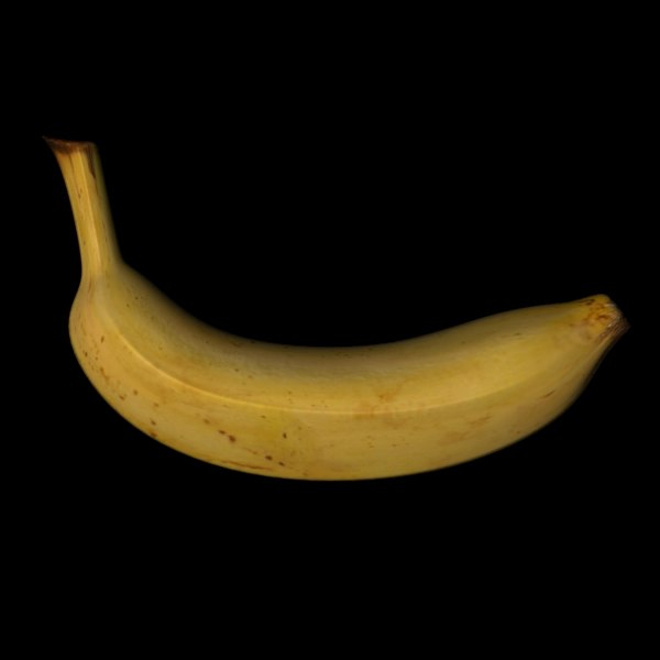 banana fruit c4d free