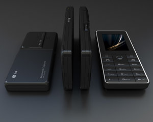 3ds max mobile phone lg