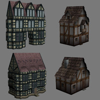 Low-poly Tudor/Fantasy Collection