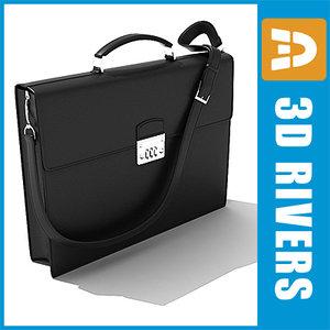 briefcase bags 3d 3ds