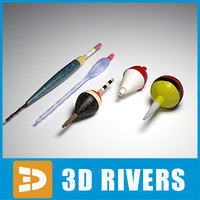 fishing float bobber 3d model