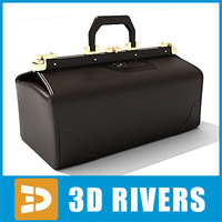 doctor suitcase bags 3d 3ds