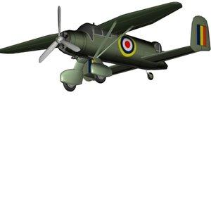 unusual aircraft 3d model