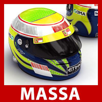 3ds felipe massa helmet 1