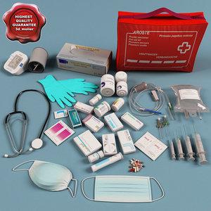 3ds max medical set blood