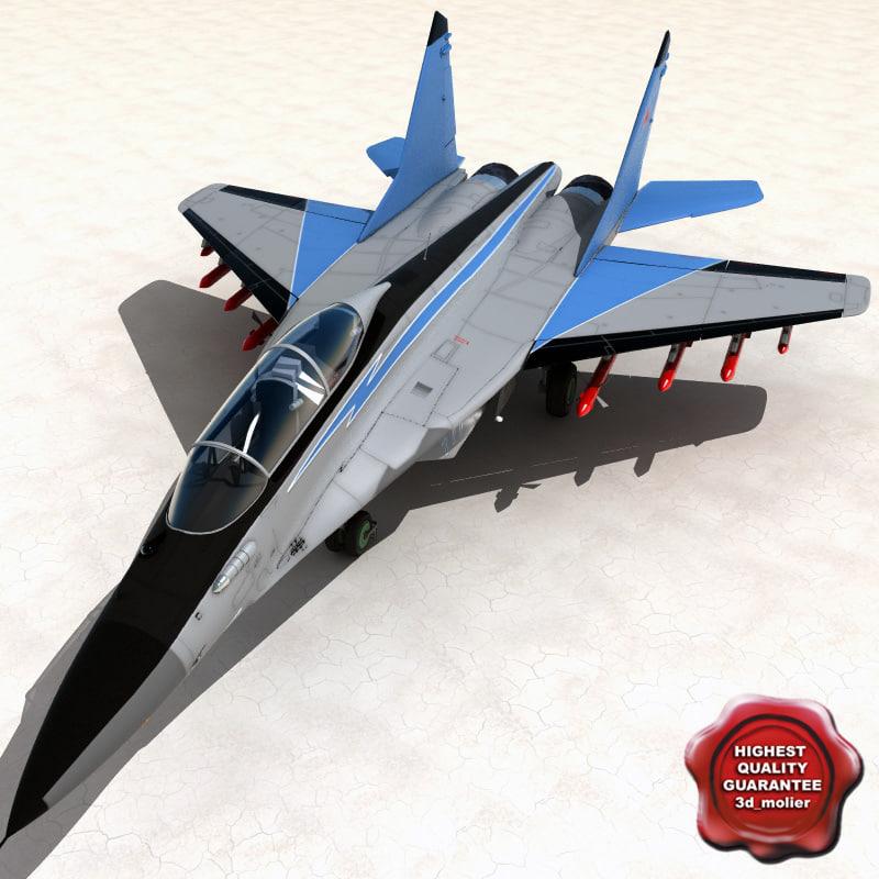 3d model mig-35 fulcrum-f