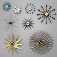 Wall Clock Collection by George Nelson