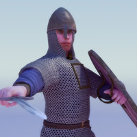 3ds max rigged norman knight games