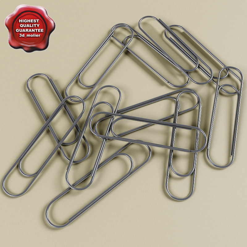 3ds paperclips modelled function