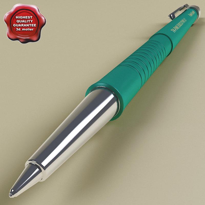 pen v2 3d obj