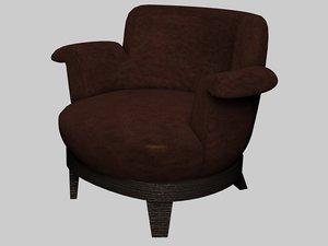 3d model gacy armchair