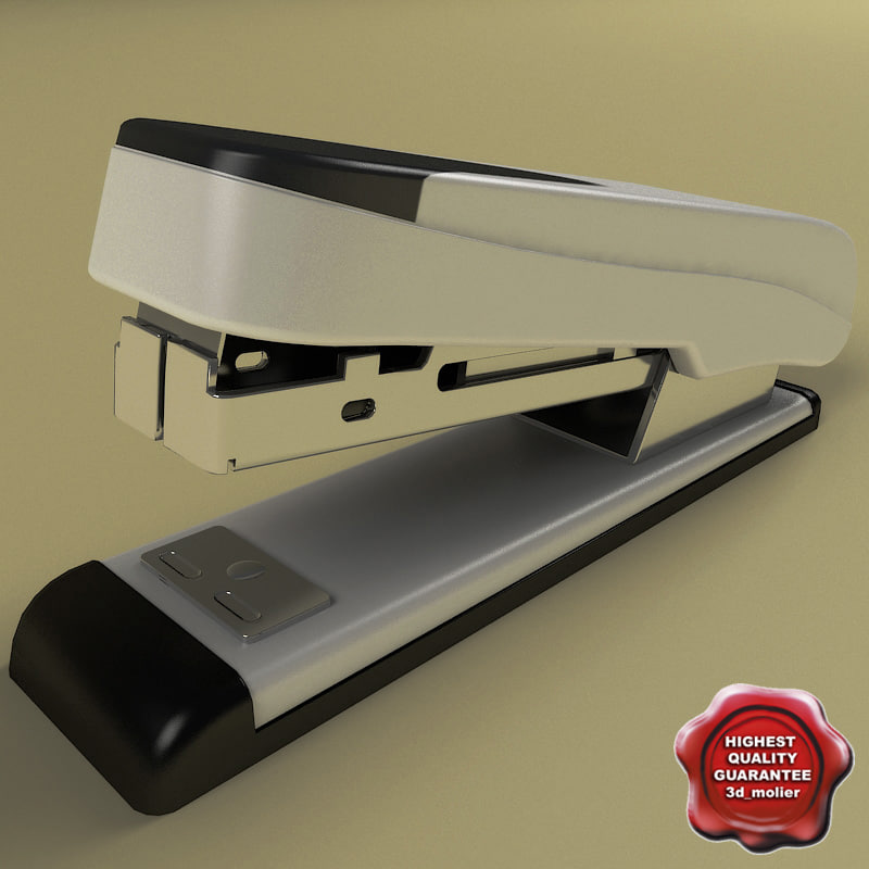 maya stapler modelled function