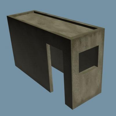 post guard 3d model