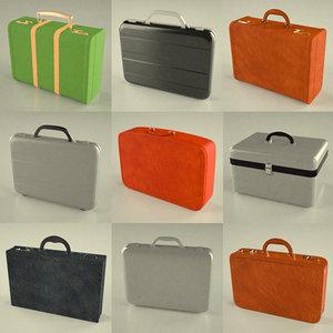 suitcase suit 3d max