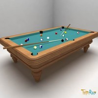 billiard table billiard-table 3d 3ds