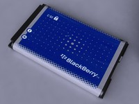 3d blackberry 8300 series battery model