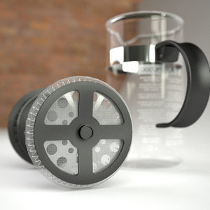 bodum press small 3d model