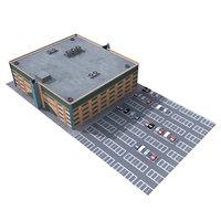 3d mall parking model
