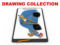 3d drawing pencil koh-i-noor