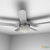 Ceiling electric fan with a lamp