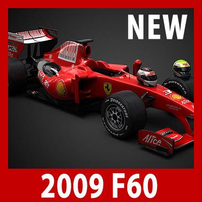 1 f1 f60 2009 3d model