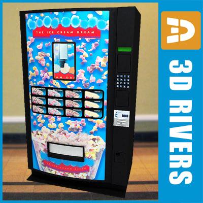 ice cream vending machine max