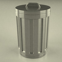dustbin file 3d 3ds