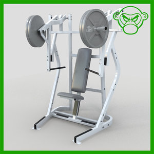 3ds iso bench press