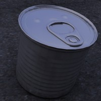 aluminum pop tab 3d model