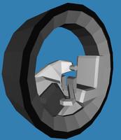 3ds vehicle wheel