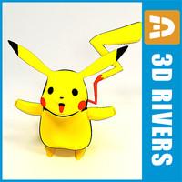 Pokemon Pikachu by 3DRivers